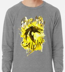 Beautiful Dragon Alpha Yellow Lightweight Sweatshirt