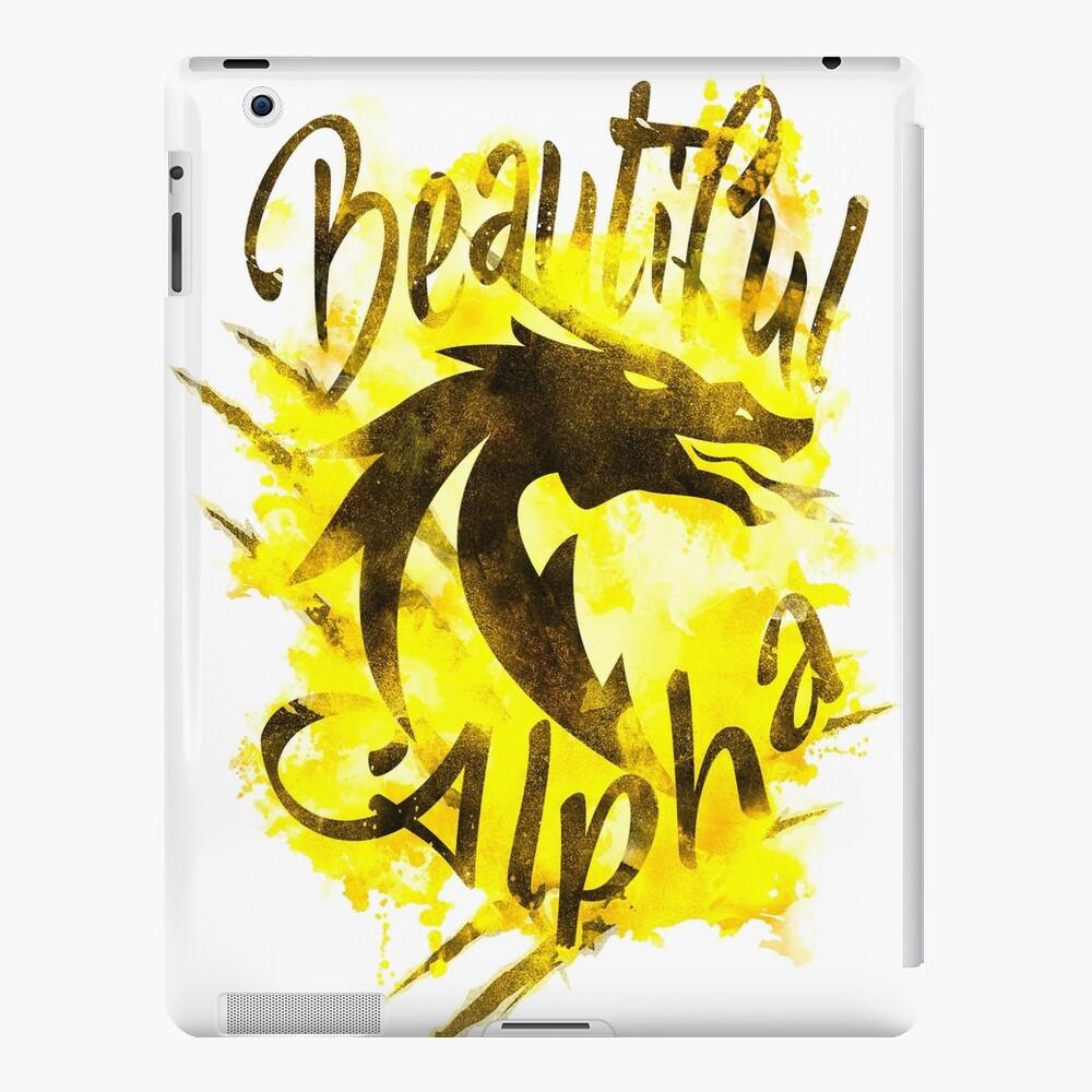 Beautiful Dragon Alpha Yellow iPad Case & Skin