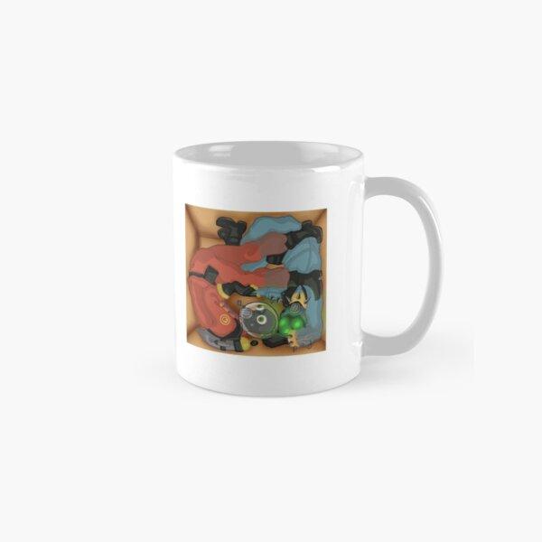 Two Pyros, One Box Classic Mug