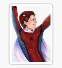 Trans Peter Parker Sticker