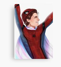 Trans Peter Parker Canvas Print
