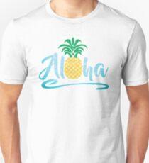Aloha - Pineapple Unisex T-Shirt