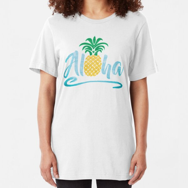 Aloha - Pineapple Slim Fit T-Shirt