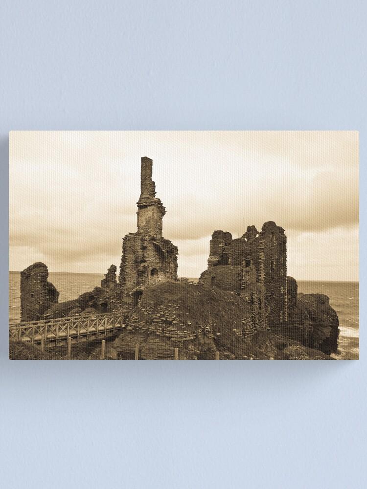 Alternate view of Sinclair Castle Canvas Print