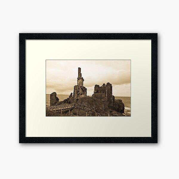 Sinclair Castle Framed Art Print