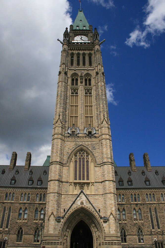 Peace Tower-Front on. by Kitangel