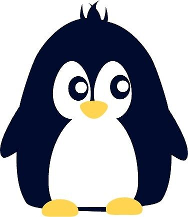 Cute penguin in cartoon style by asnia