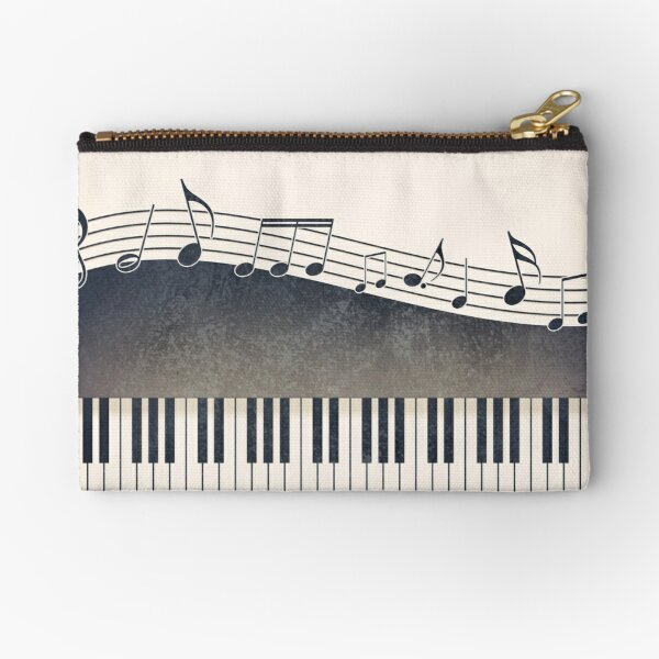 Piano Zipper Pouch