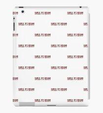 Bill Vs Eric - True Blood Shirt iPad Case/Skin