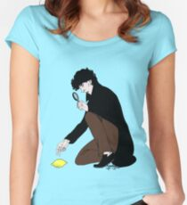 Guess Who Found the Lemon?! Women's Fitted Scoop T-Shirt