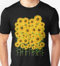 Sunflower Garden Slim Fit T-Shirt