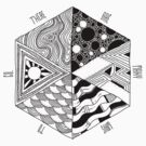 Trippy Hexagon by TheMaker