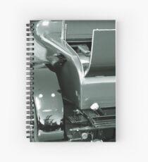 Vintage Monochrome Vehicle Spiral Notebook