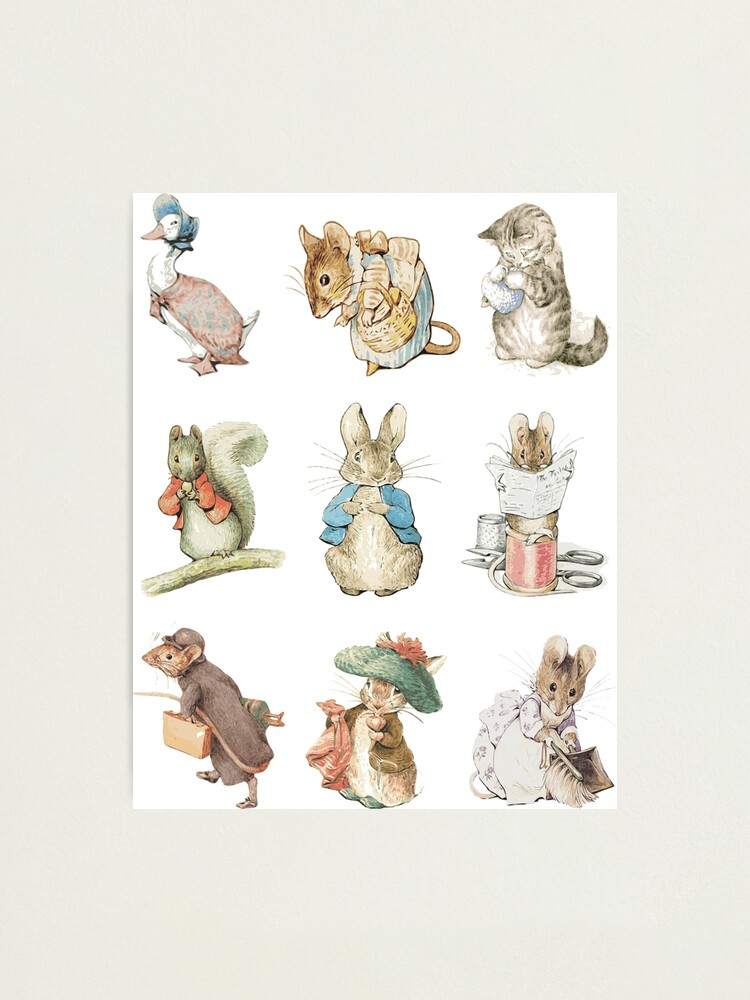 Alternate view of Beatrix potter Photographic Print