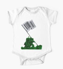 Raising The Flag Of Commerce Collage Kids Clothes