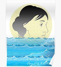 I am not one and simple, but complex and many. -Virginia, The Waves  Poster