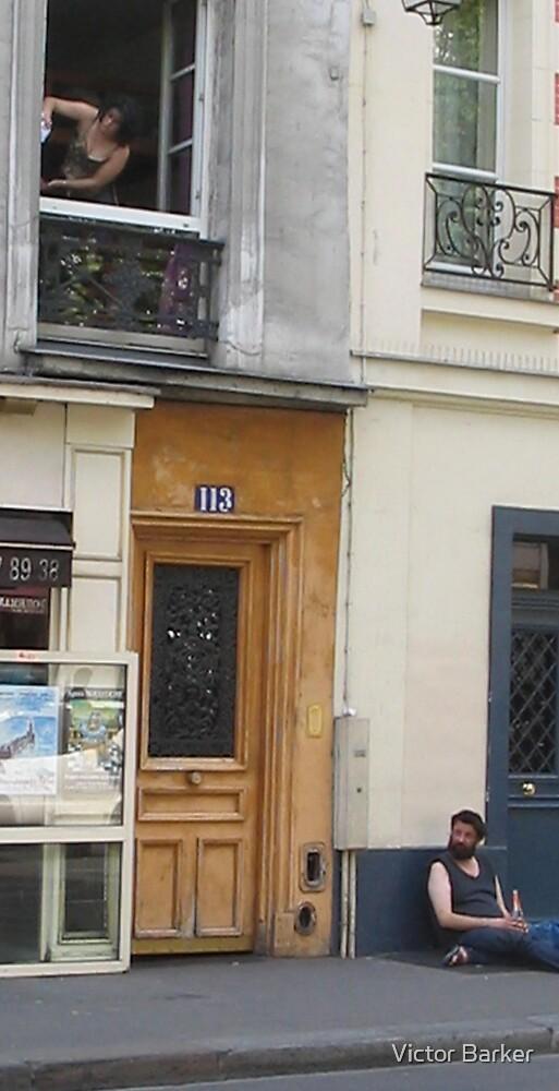 Rue St Antoine sleepy drunk by Victor Barker