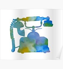 A telephone Poster