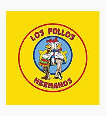 Los Pollos Hermanos - Circle Variant Photographic Print