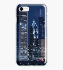 Chicago Skyline at Night iPhone Case/Skin