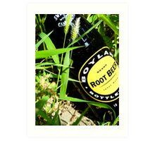 root beer Art Print