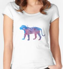 A tiger Women's Fitted Scoop T-Shirt