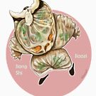 J is for Jiang Shi Jiaozi by kikoeart