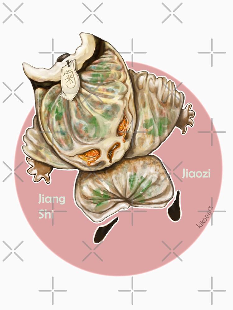 J is for Jiang Shi Jiaozi by kikoeart