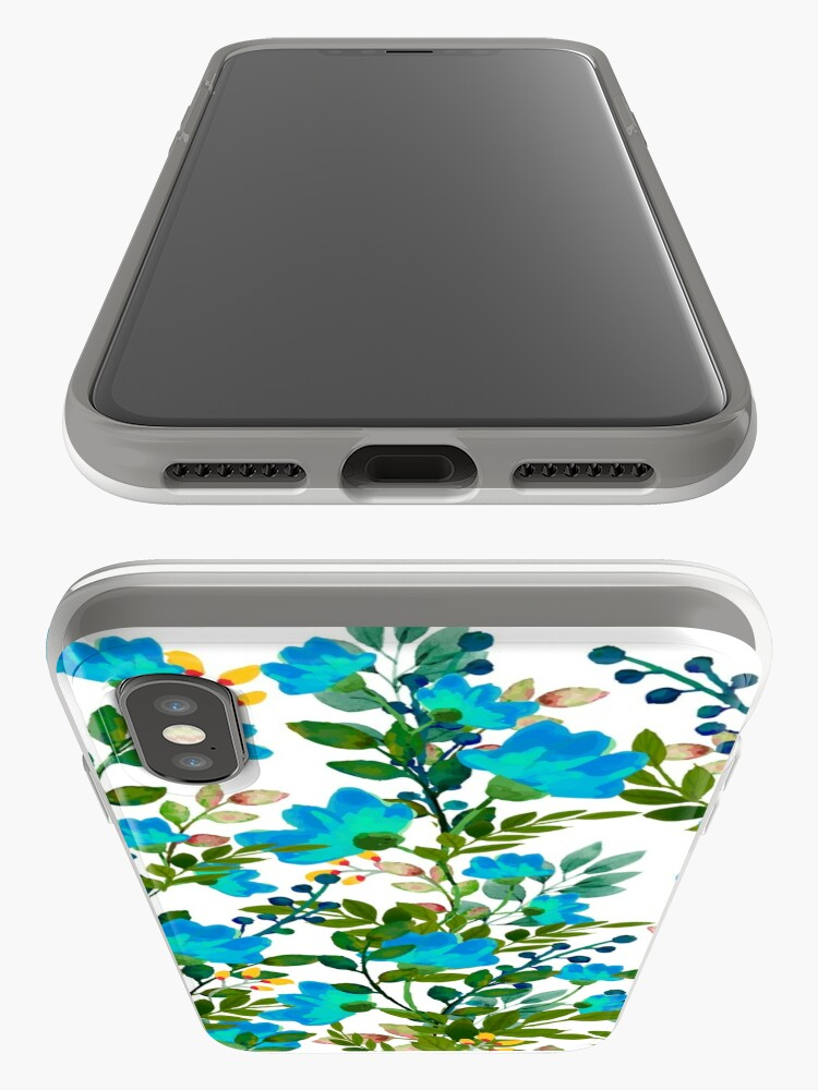 Alternate view of Blue #redbubble #decor #buyart iPhone Case & Cover