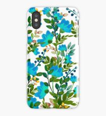 Blue #redbubble #decor #buyart iPhone Case/Skin