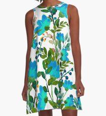 Blau #redbubble #decor #buyart A-Linien Kleid