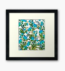 Blue #redbubble #decor #buyart Framed Print