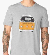 Late Bay VW Camper Orange Front Men's Premium T-Shirt