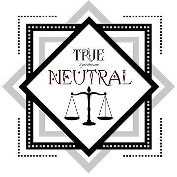 True Neutral - D&D by TeeTeeProject