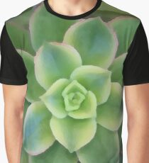 Beautiful and Bright Succulent Graphic T-Shirt