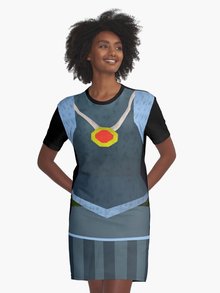 Runescape Rune Armour T Graphic T Shirt Dress By Lindasdesign