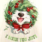 I Wish You Joy! by Sarah  Mac Illustration