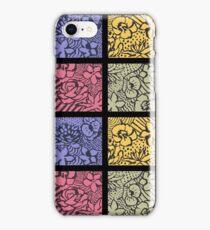 Flower Stencils iPhone Case/Skin
