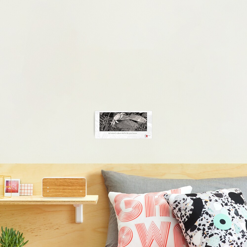 Ghost Shell Photographic Print