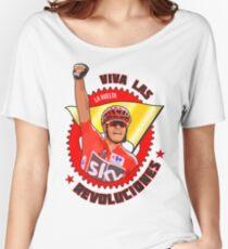 Viva Las Revoluciones - Chris Froome La Vuelta Women's Relaxed Fit T-Shirt