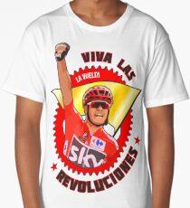 Viva Las Revoluciones - Chris Froome La Vuelta Long T-Shirt