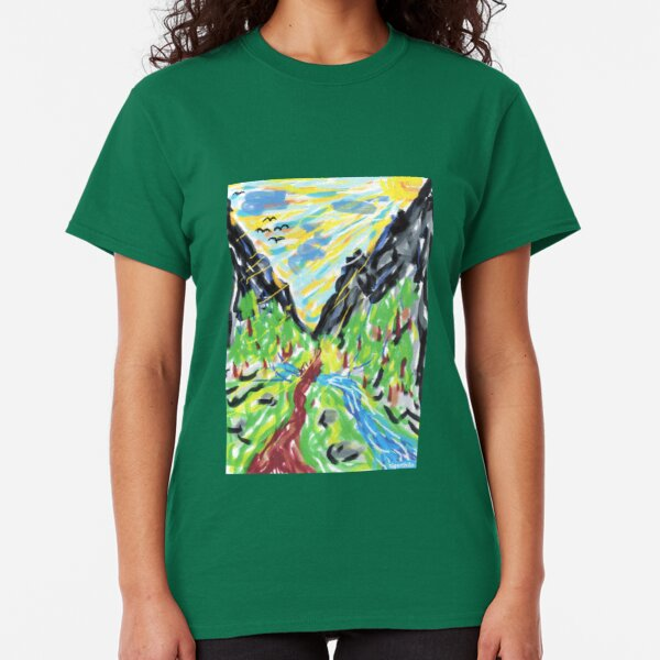 2311 - Out of the Valley through the Mountains Classic T-Shirt