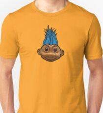 Troll mohawk hair Slim Fit T-Shirt