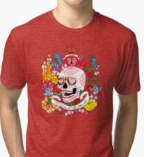 El Dia de Los Muertos Tri-blend T-Shirt