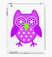 Cute Owl  iPad Case/Skin