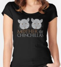 Mother of chinchillas Women's Fitted Scoop T-Shirt