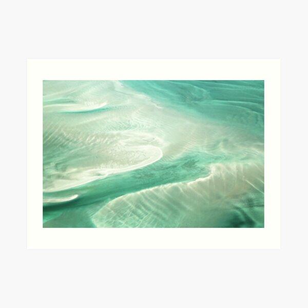 Grünes Paradies ... Kunstdruck