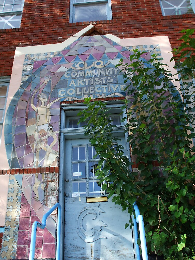 THE COMMUNITY ARTISTS COLLECTIVE by Dalzenia Sams