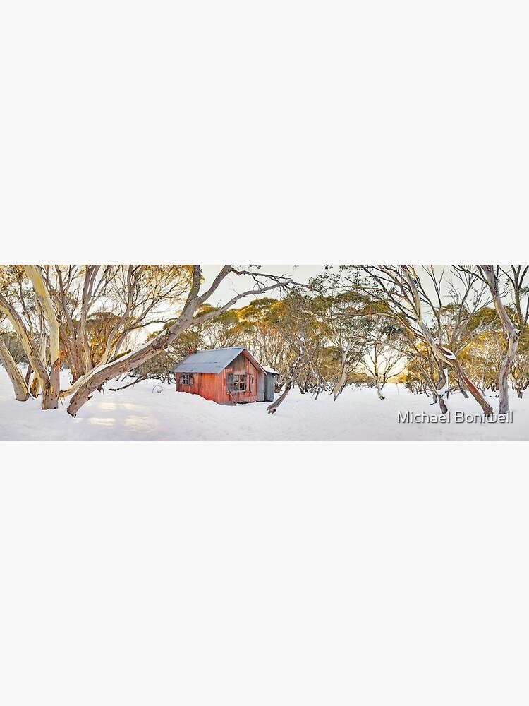 Winter at JB Plain Hut, Mt Hotham, Victoria, Australia by Chockstone