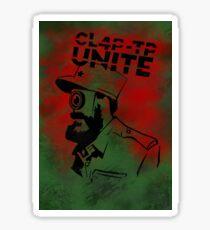 ClapTrap Fidel Castro - Borderlands (New Robot Revolution) Sticker